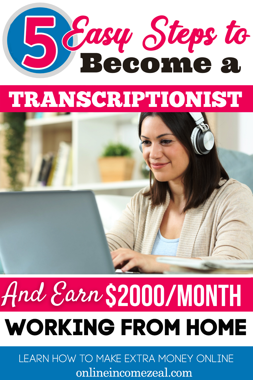 5 ways to become a transcriptionist