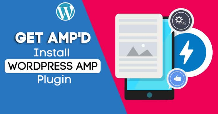 Install amp to speed up your website